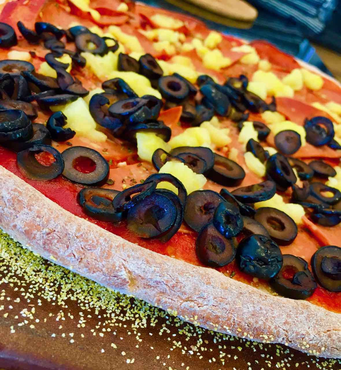 cooked vegan wfpb pizza crust