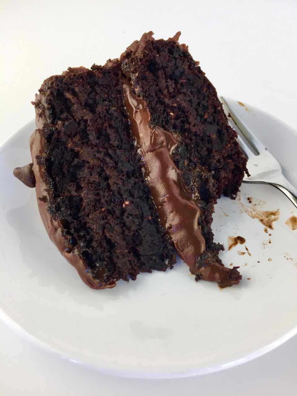 Healthy Aqua Faba Vegan Chocolate Birthday Cake Fat Free