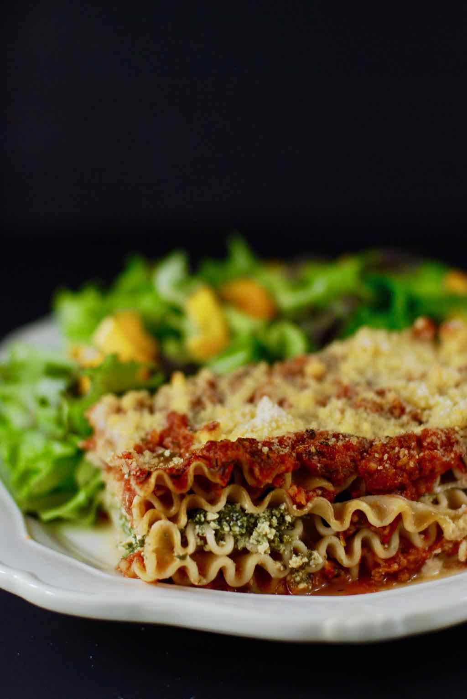 whole grain vegan lasagna whole foods plant based recipe
