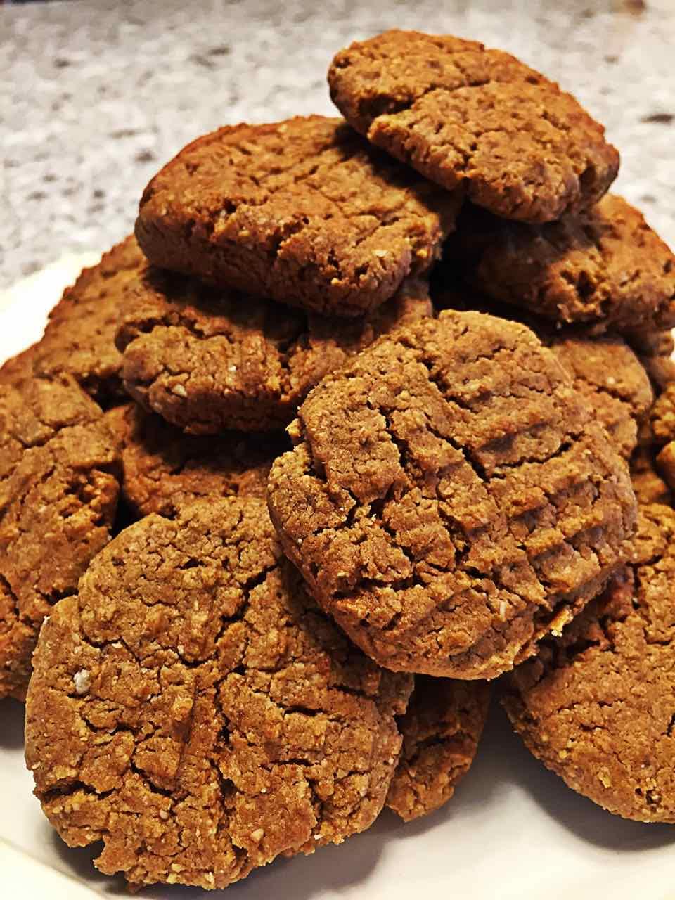 Image of vegan irresistible peanut butter cookies